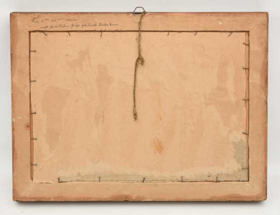 "UNKNOWN PAINTER ""Noddeutsche level with farm"", Oil on cardboard, framed, circa 1910 - photo 11"