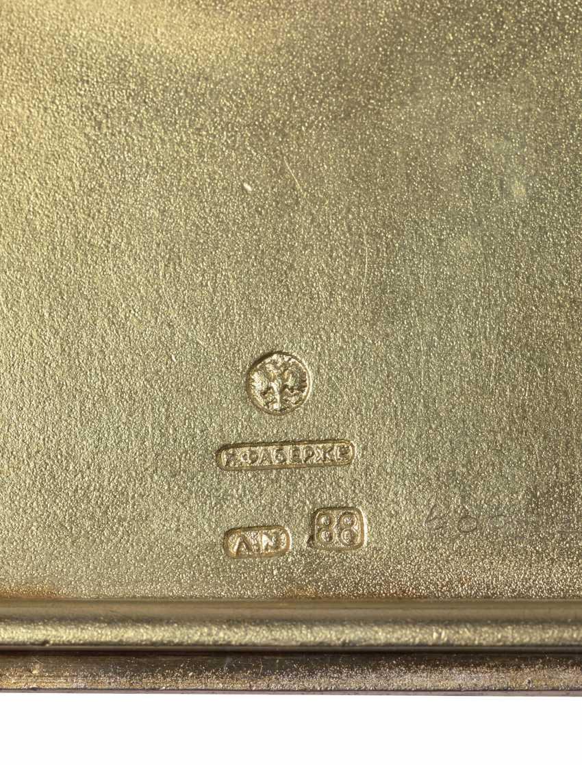 A GEM-SET GOLD-MOUNTED AND GUILLOCHÉ ENAMEL SILVER CIGARETTE... - photo 4