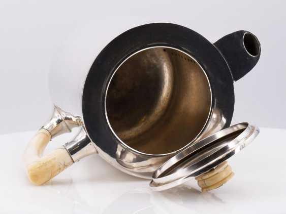 Five-piece Art Deco coffee and tea service - photo 4