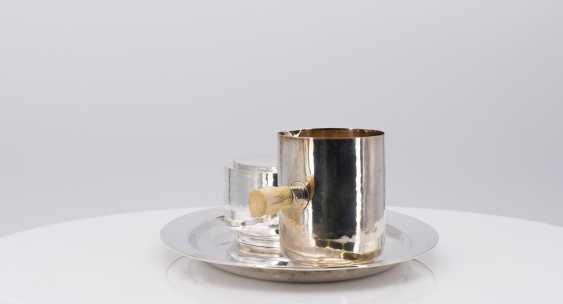 Five-piece Art Deco coffee and tea service - photo 6