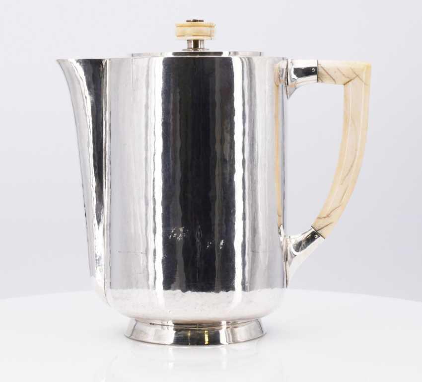 Five-piece Art Deco coffee and tea service - photo 14