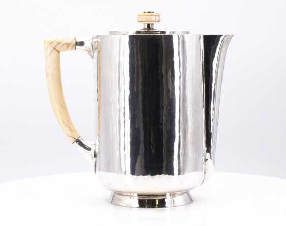 Five-piece Art Deco coffee and tea service - photo 16