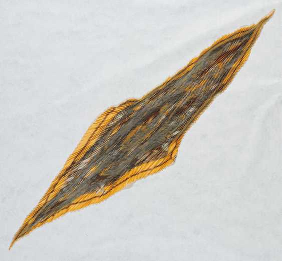 Pleated silk scarf - photo 2