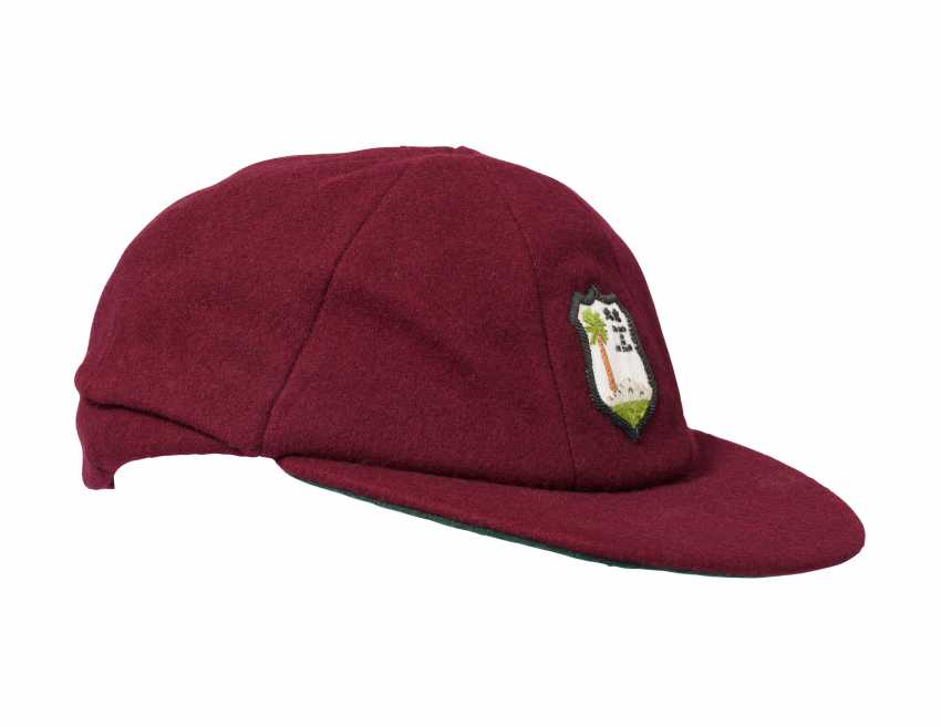 CASQUETTE CLIVE LLOYD'S WEST INDIES MAROON - photo 2