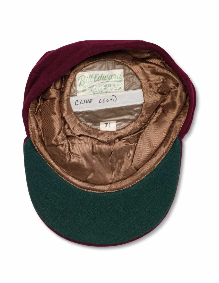 CASQUETTE CLIVE LLOYD'S WEST INDIES MAROON - photo 3
