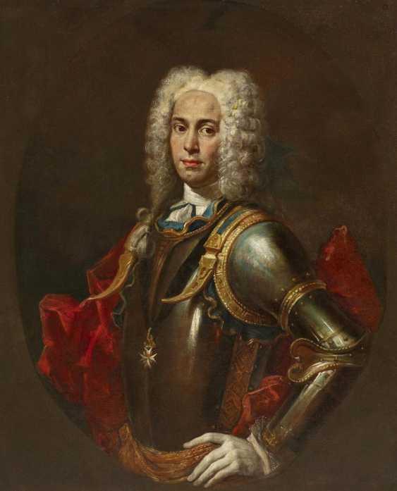 Portrait of a Knight of Malta (allegedly Antoine Manoel de Vilhena) - photo 1