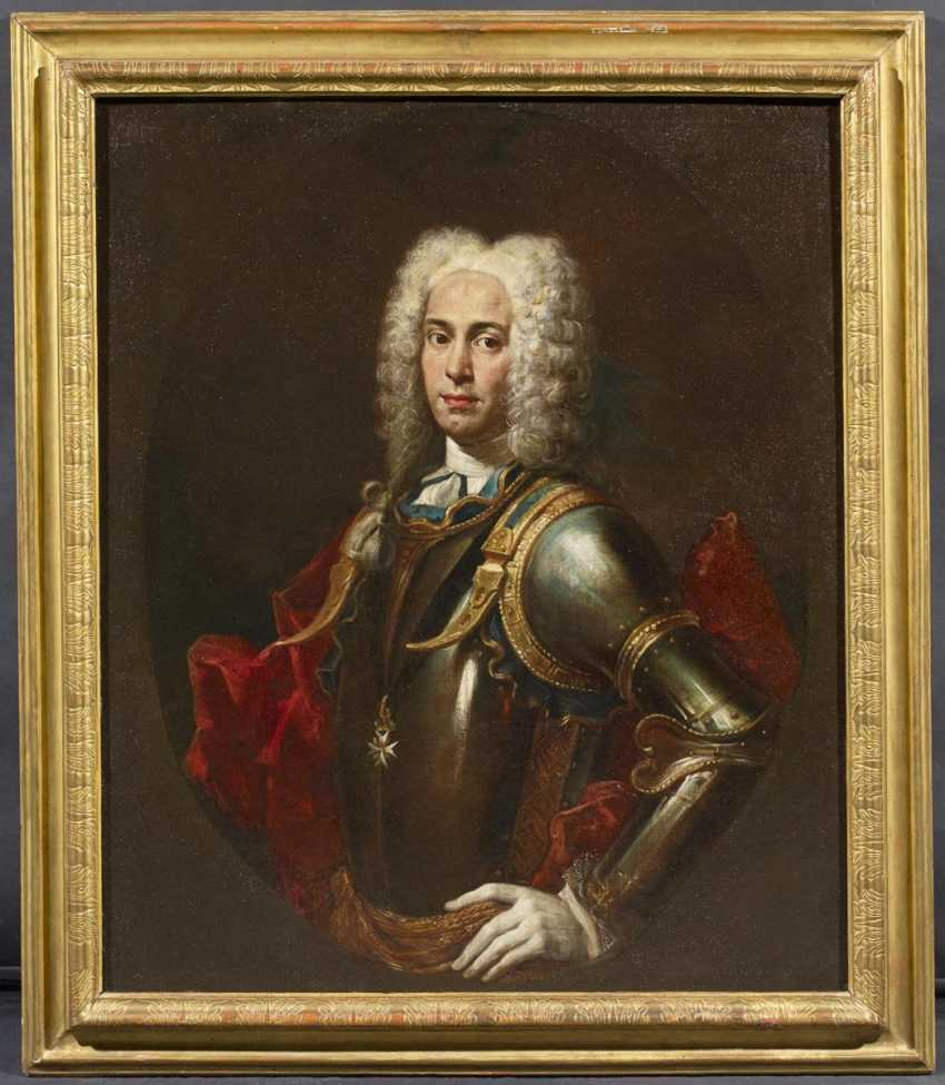 Portrait of a Knight of Malta (allegedly Antoine Manoel de Vilhena) - photo 2