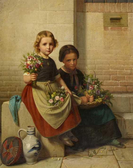 Two flower girls - photo 1