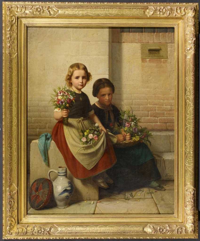 Two flower girls - photo 2