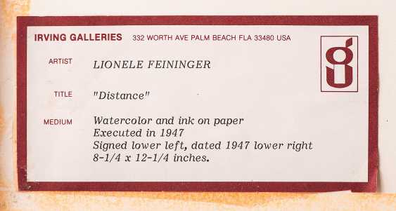 Feininger, Lyonel - photo 4