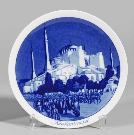 Wandteller mit der Hagia Sofia - photo 1