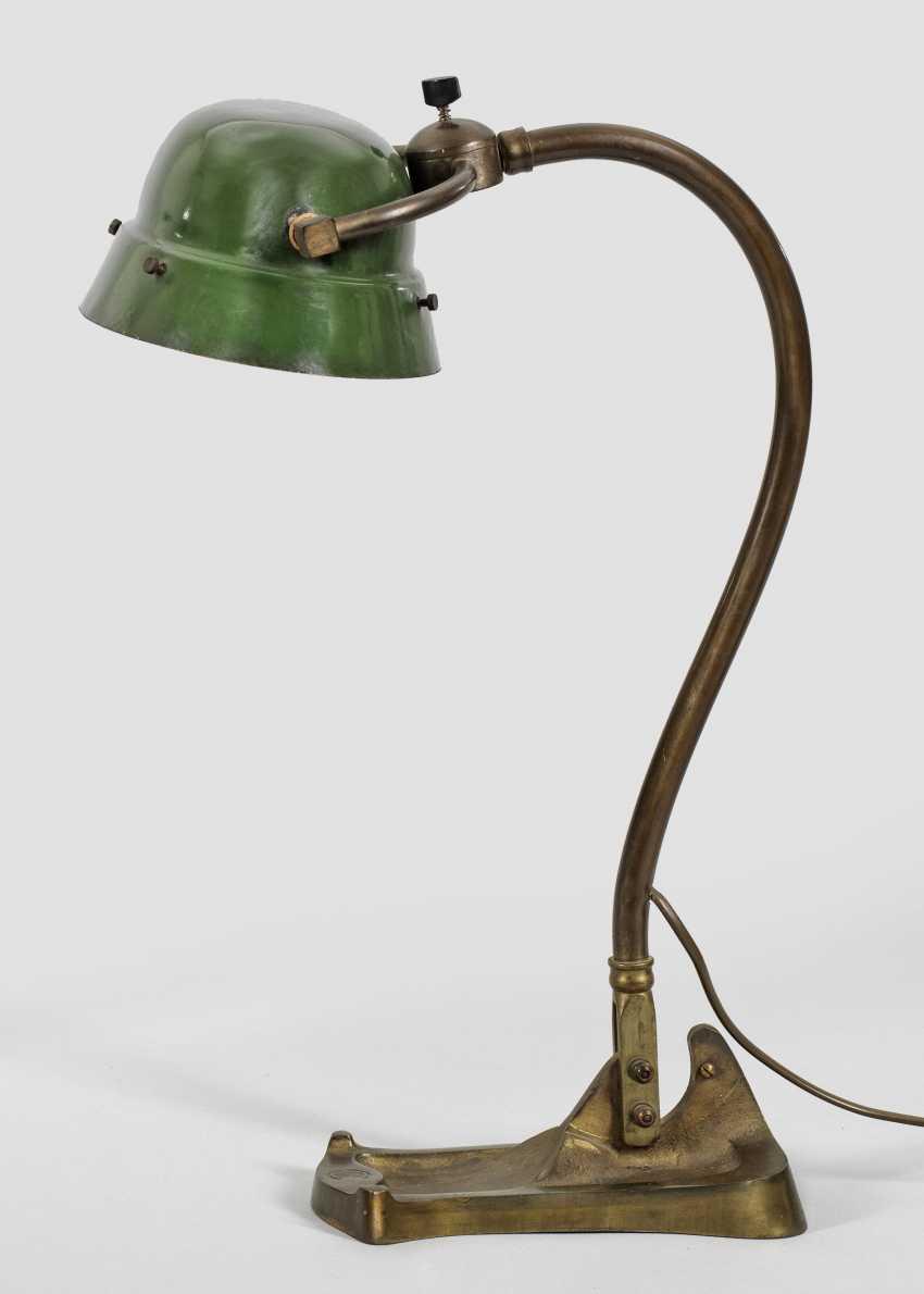 Art Nouveau desk lamp - photo 1