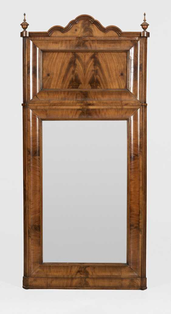 Large Biedermeier wall mirror - photo 1