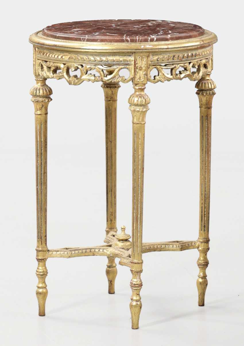 Louis XVI style side table - photo 1