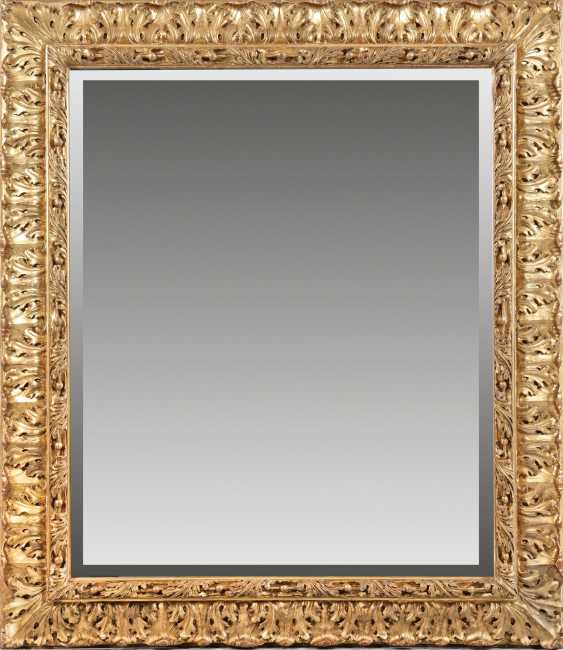 Large Belle Epoque wall mirror - photo 1