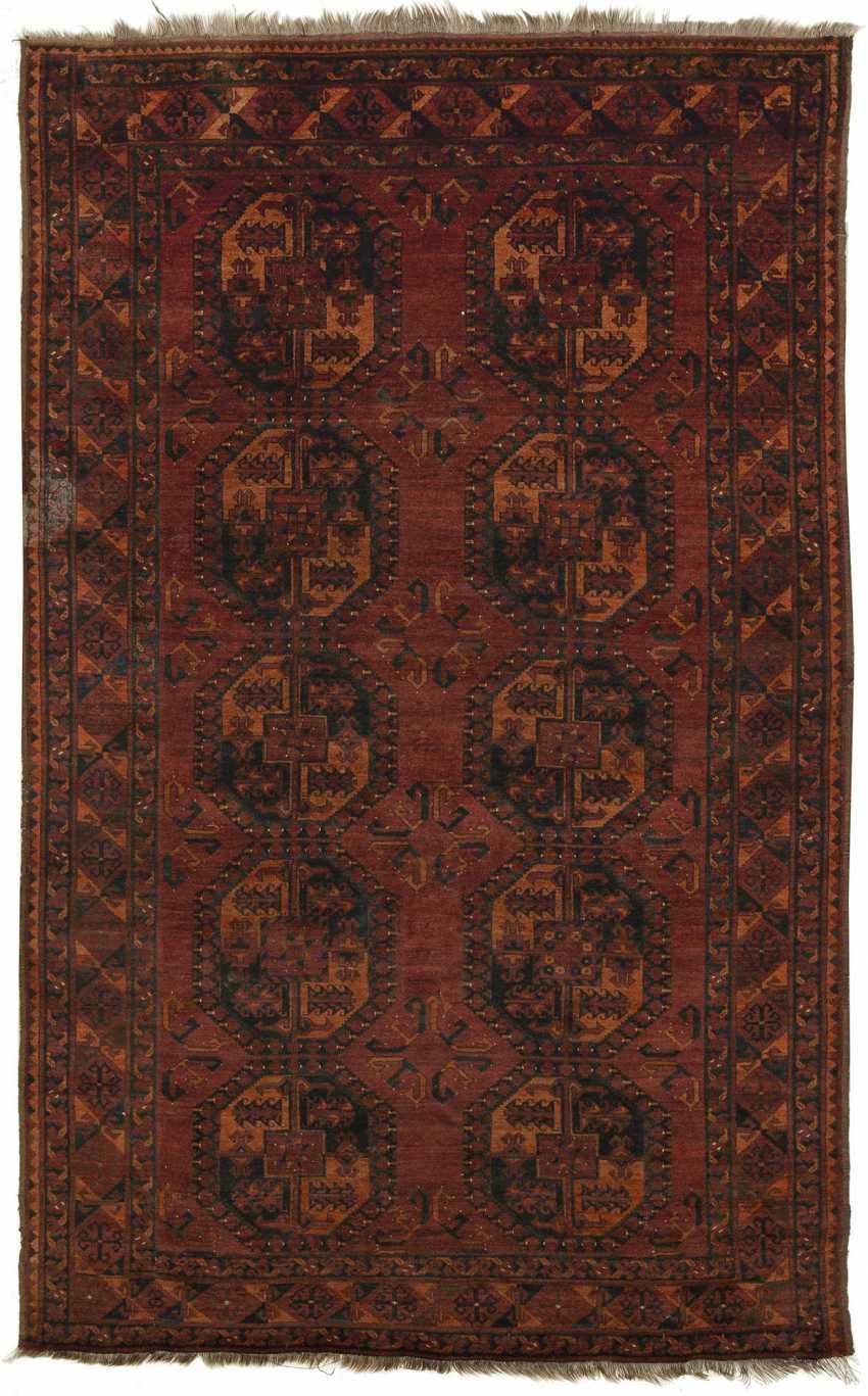 Small antique Turkmen carpet - photo 1
