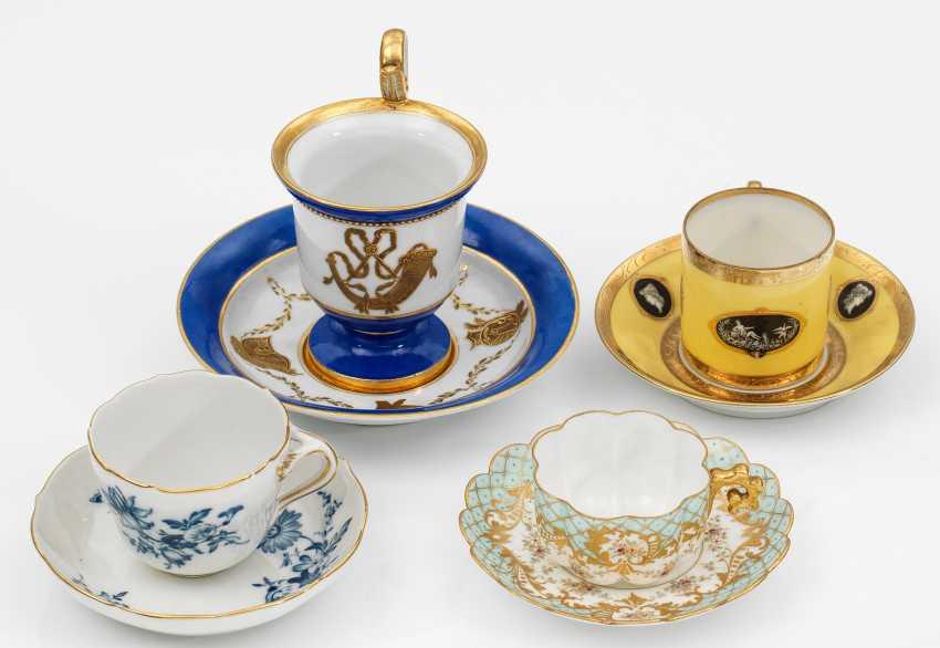 Four decorative cups - photo 1