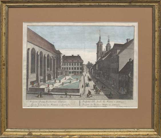 """Peep box with view """"Prospect of Pauliner Strasse - photo 1"""