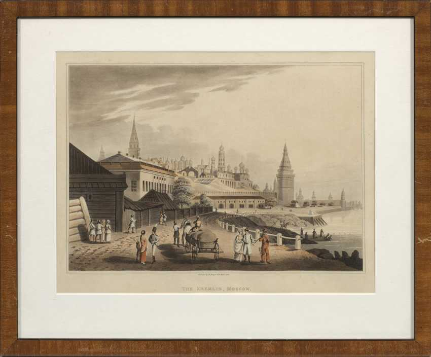 """View of the Kremlin in Moscow """"THE KREMLIN, MOSCOW"""". - photo 1"""