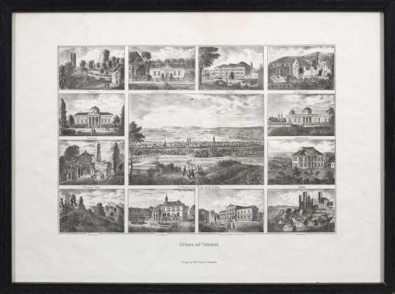 "Reminder sheet with views of ""Göttingen and the surrounding area"". - photo 1"