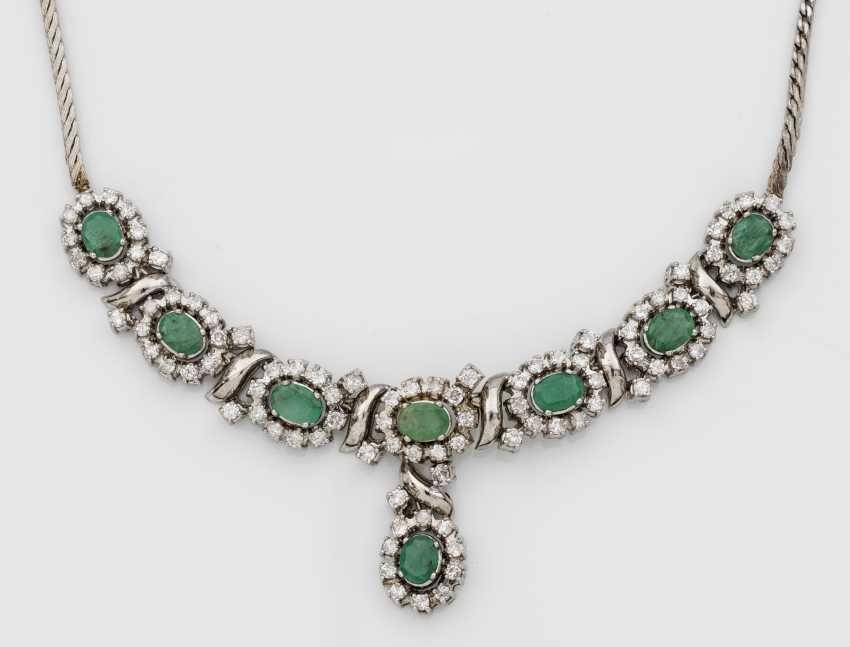 Representative emerald necklace - photo 1