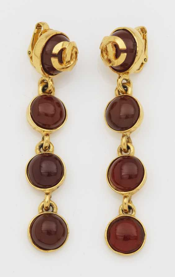 Pair of vintage Chanel earrings from 1995 - photo 1