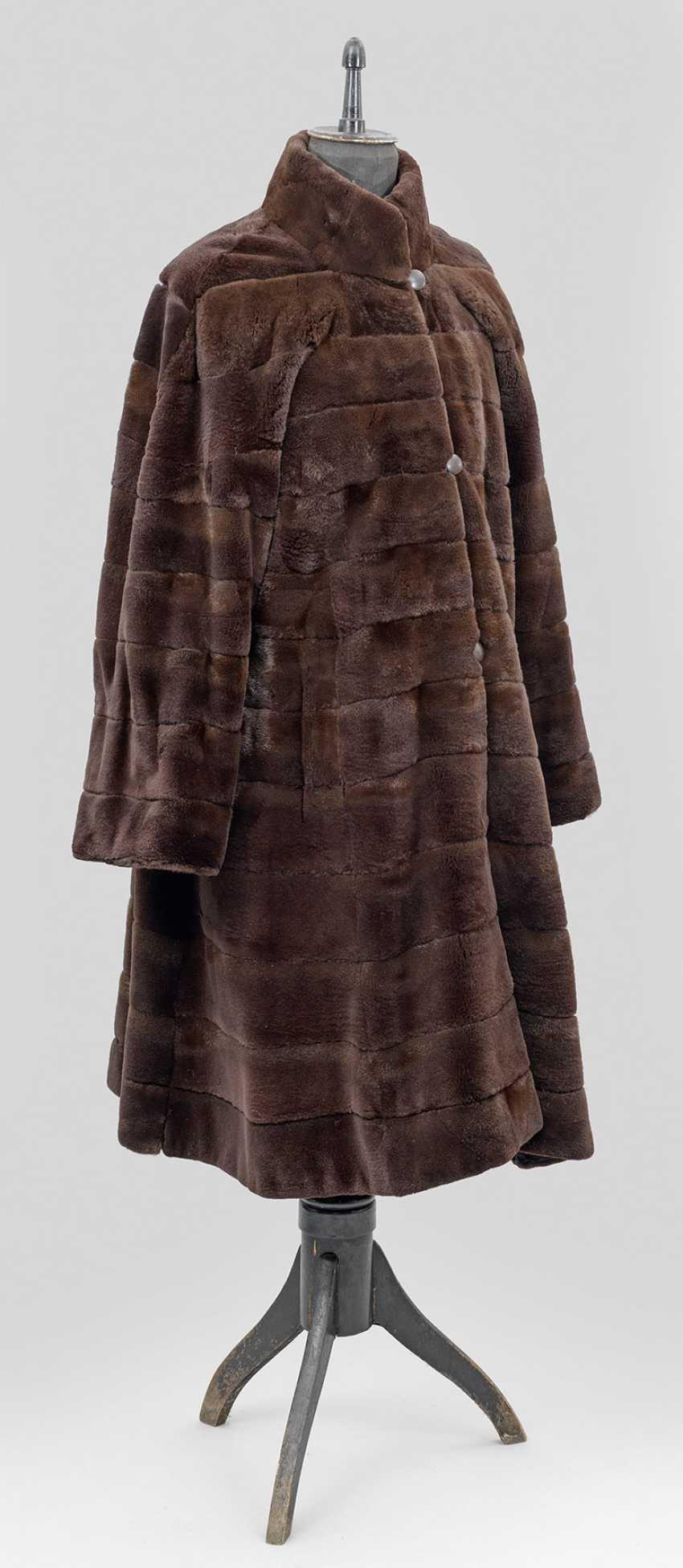 Reversible mink coat - photo 1