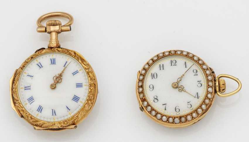 Deux montres de poche pour femme Belle Epoque - photo 1