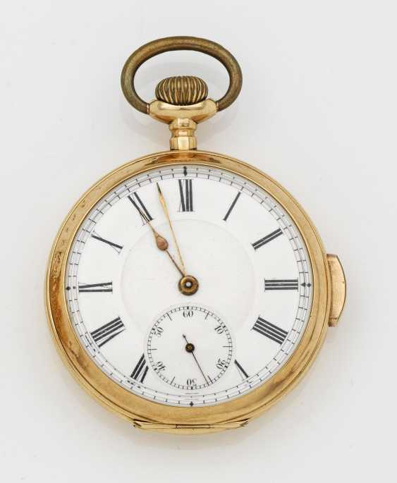 Gold pocket watch with repeater - photo 1