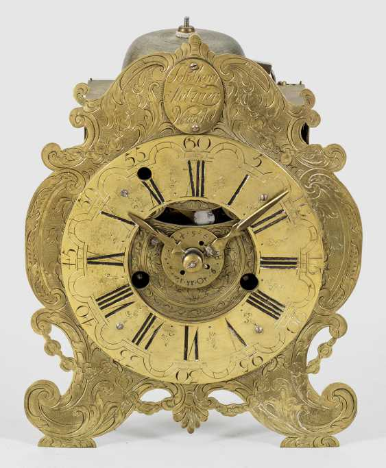 Baroque table clock by Johann Georg Metzner - photo 1