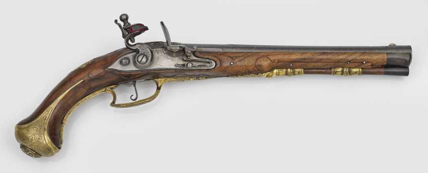 Steinschloss-Pistole - photo 1