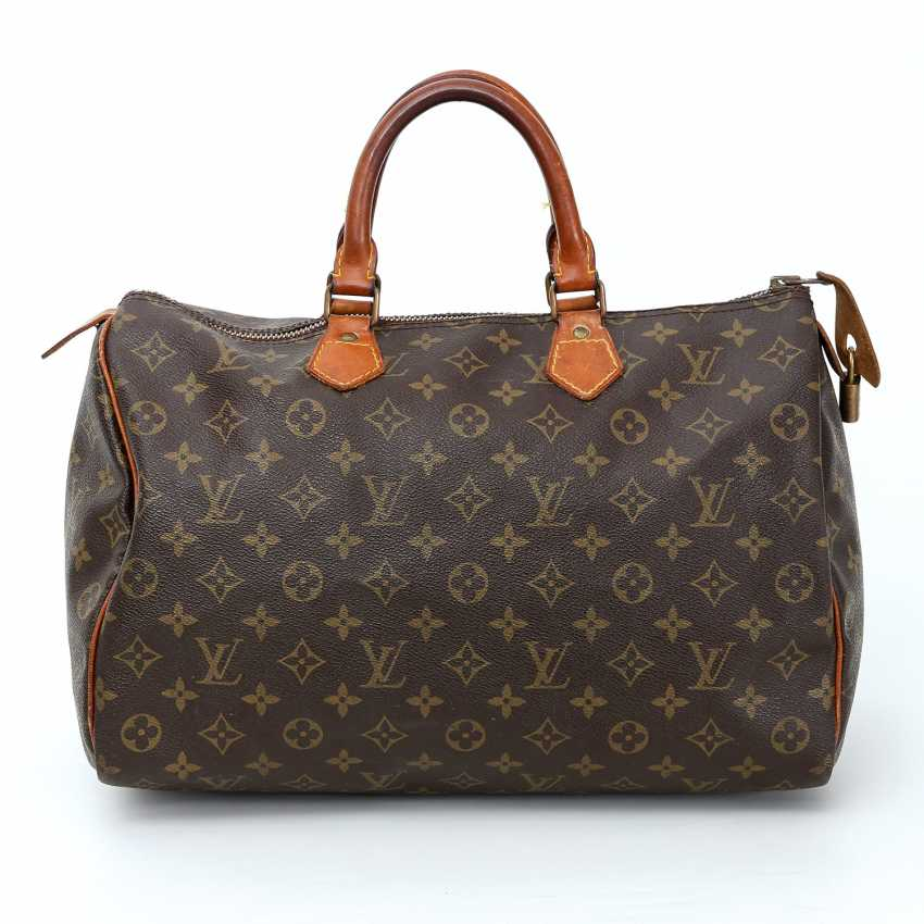 louis vuitton klassische henkeltasche speedy 35 neupreisca 775 los 3. Black Bedroom Furniture Sets. Home Design Ideas