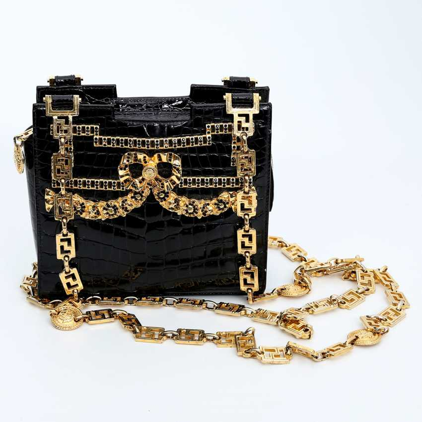 47df9f2204 Lot 9. GIANNI VERSACE COUTURE VINTAGE extravagant shoulder bag. from ...