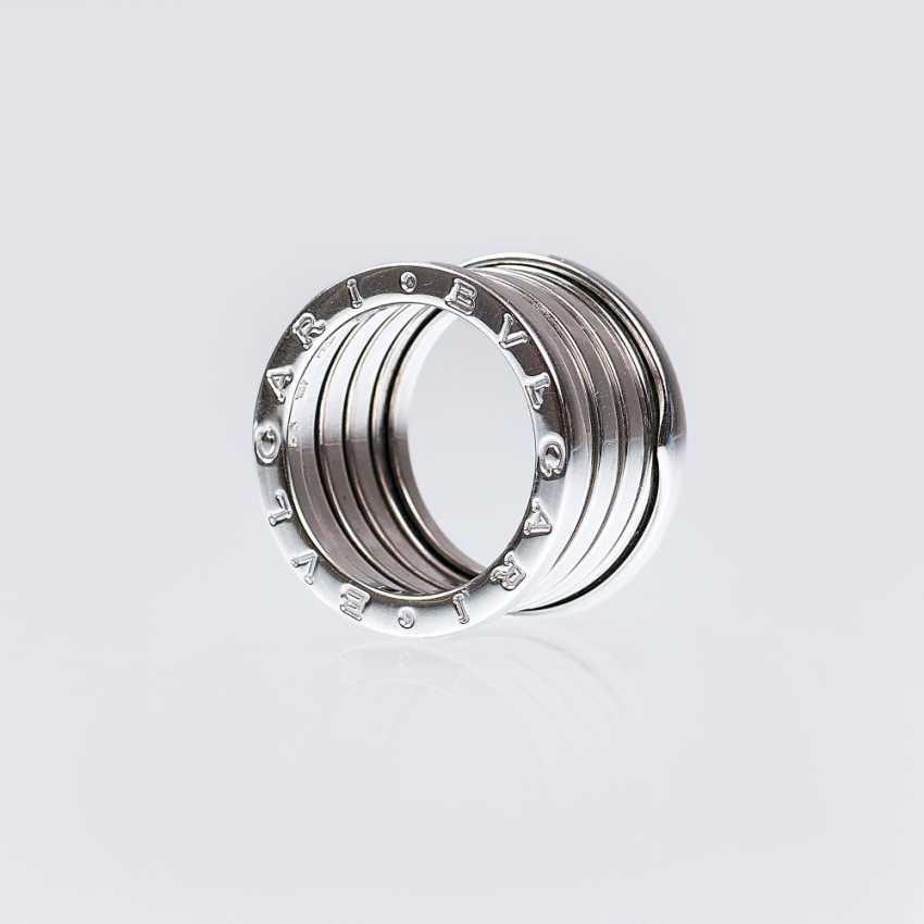 White gold ring 'B.zero1' - photo 1