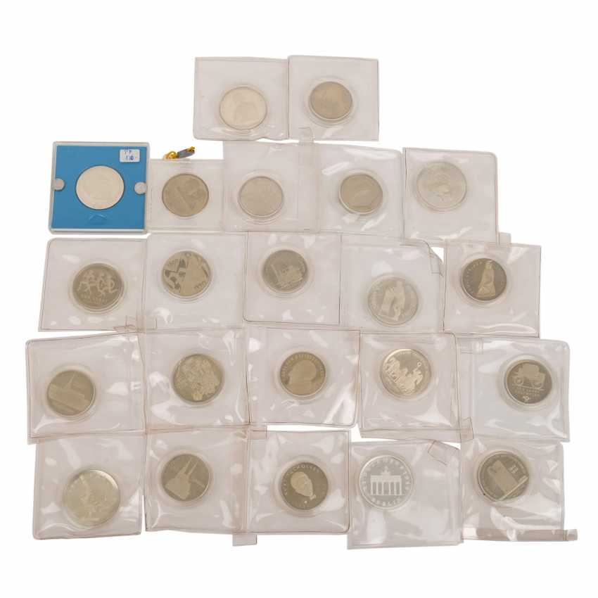 GDR - interesting collection of 22 coins ex. 1987/90, - photo 1