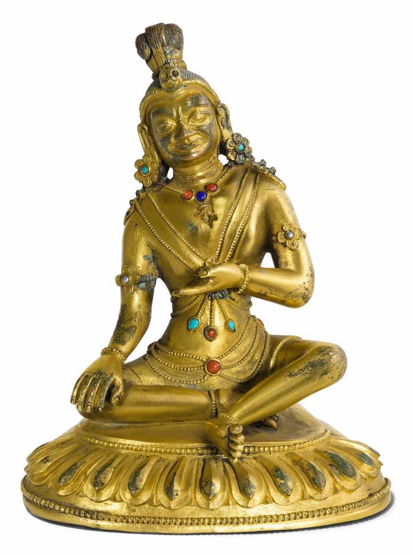 Figur eines Mahasiddhas - photo 1