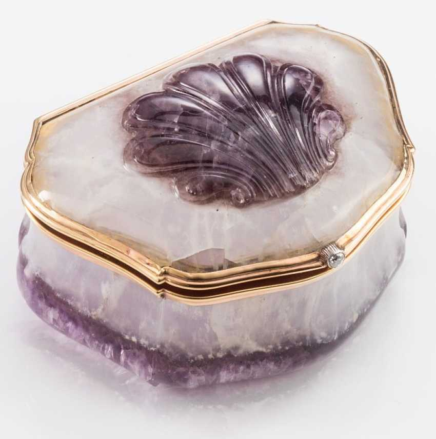 Feine Faberge Amethystdose - photo 1