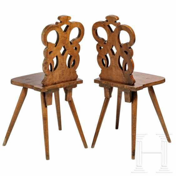 A pair of snake chairs, Hesse, 19th century - photo 2