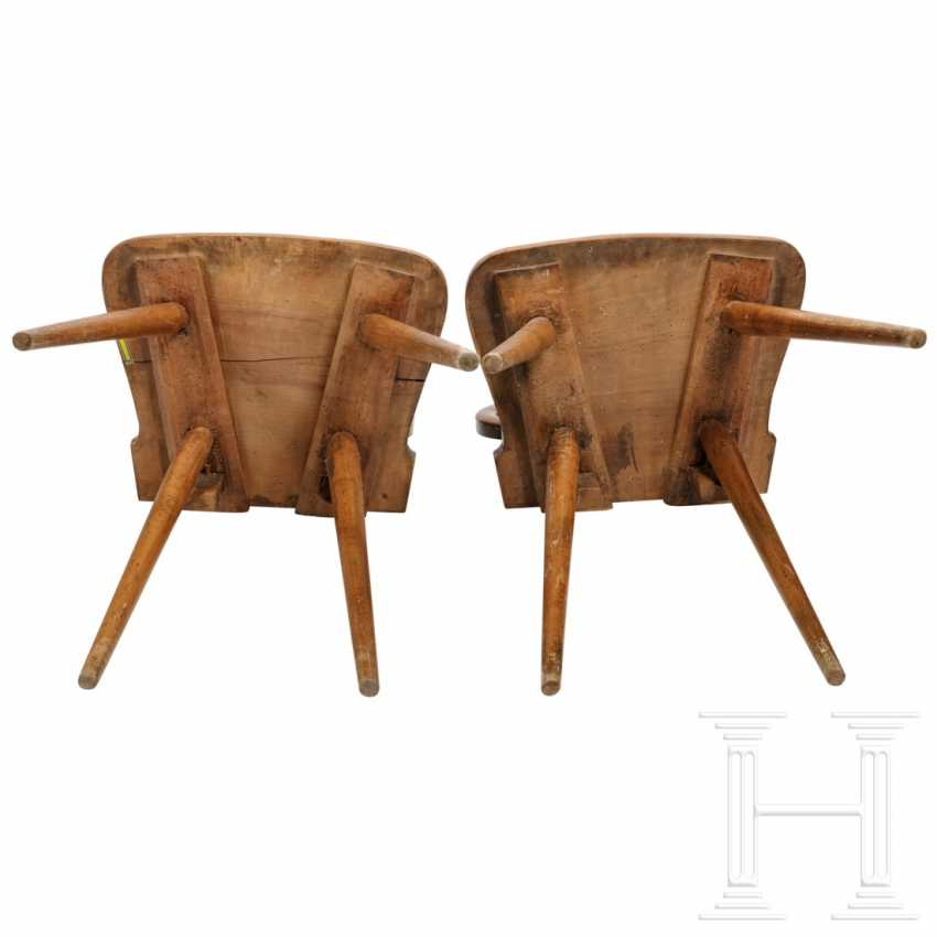 A pair of snake chairs, Hesse, 19th century - photo 3