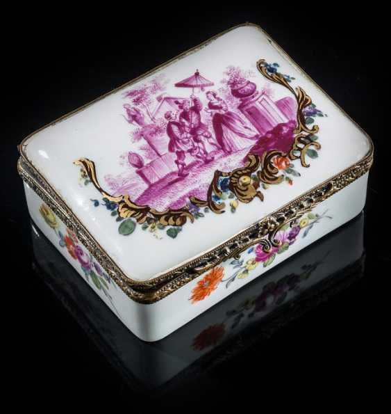 Porcelain box - photo 1