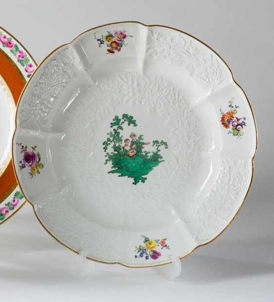 Plate from the Saxon Hofservice - photo 1