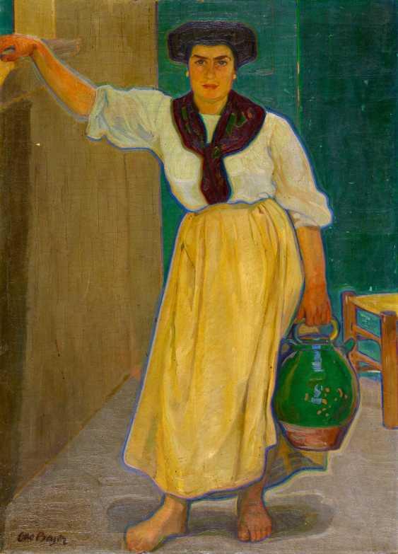 Woman with mug - photo 1