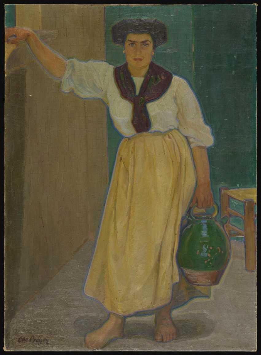 Woman with mug - photo 2