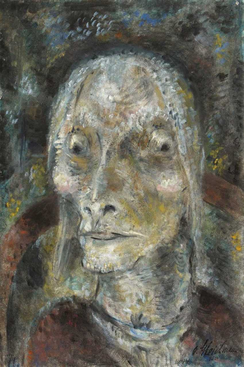 Head of an old woman - photo 1