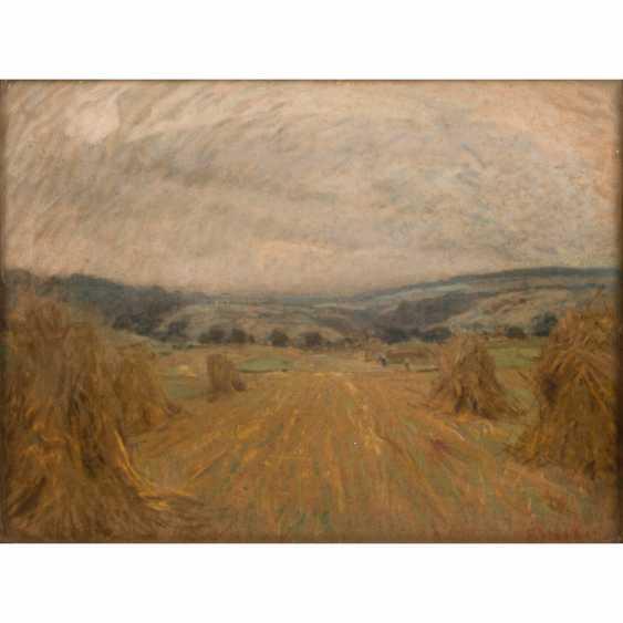 "STARKER, ERWIN (1872-1938) ""Haymaking"" - photo 1"