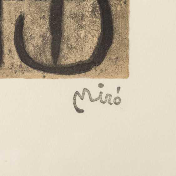 "MIRÓ, Joan, AFTER (1893-1983), 5 color lithographs ""Figural Composition"", - photo 3"