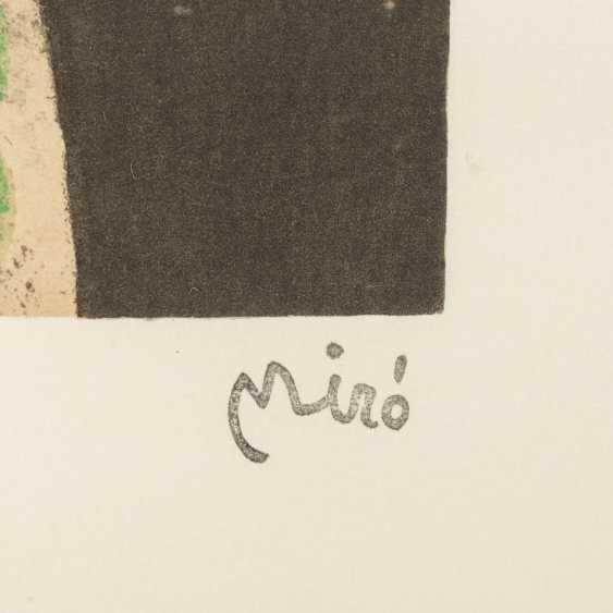 "MIRÓ, Joan, AFTER (1893-1983), 5 color lithographs ""Figural Composition"", - photo 5"