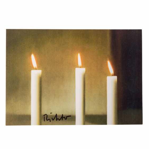 "RICHTER, Gerhard, NACH (born 1932), ""Three candles"", - photo 1"