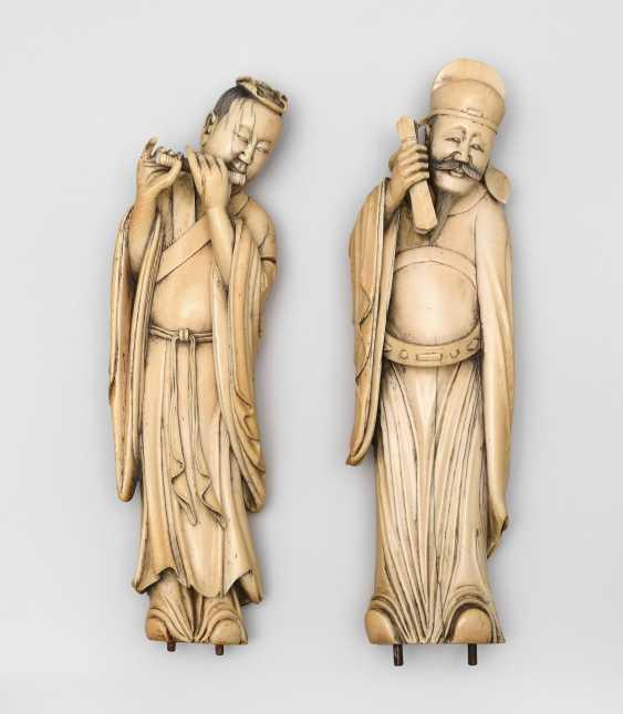 2 Ivory Figures - photo 1