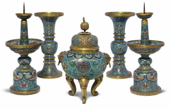 Five-Piece Altar Garniture - photo 1